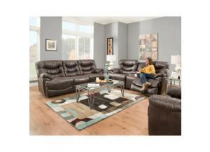 Touchdown Reclining Sofa and Reclining Love Seat