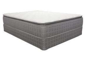 Winsley Pillow Top Twin Mattress with Foundation